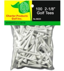 Charter Golf Tees 100 Pack
