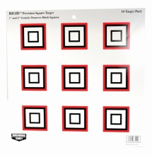 Rigid Paper Target Precision Square 12 Inch 10 Per Package
