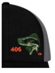 Area Code Art Walleye Trucker Hat