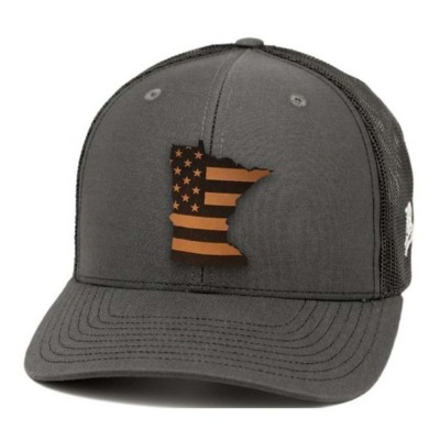 c1475618e332f Men s Branded Bill Minnesota Patriot Curved Trucker Hat