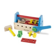 Melissa & Doug Take-Along Toolkit Wooden Toy Set