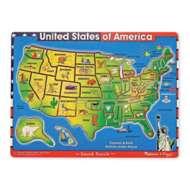 Melissa & Doug United States of America Sound Puzzle - 40 Pieces