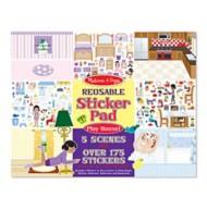 Melissa & Doug Reusable sticker Pad - Ply House