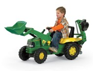 Kettler John Deere Loader with Backhoe