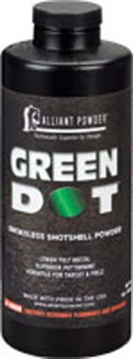 Alliant Green Dot Smokeless Shotshell Reloading Powder