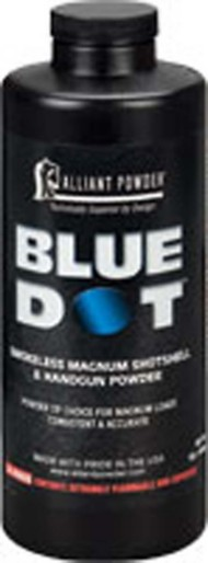 Alliant Blue Dot Smokeless Magnum Shotshell and Handgun Reloading Powder