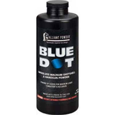 Alliant Blue Dot Smokeless Magnum Shotshell and Handgun Reloading Powder