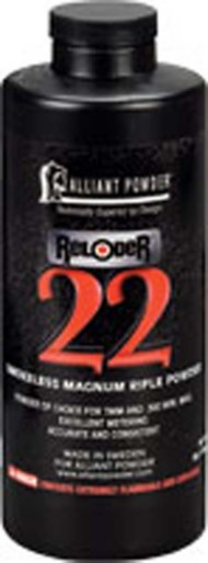Alliant Reloder 22 Smokeless Magnum Rifle Reloading Powder