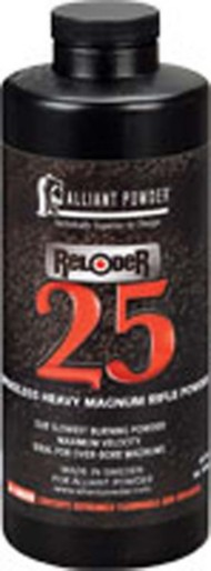 Alliant Reloder 25 Smokeless Heavy Magnum Rifle Reloading Powder