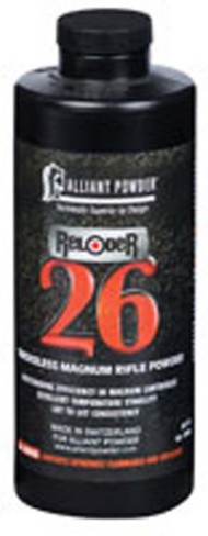 Alliant Reloder 26 Smokeless Magnum Rifle Reloading Powder