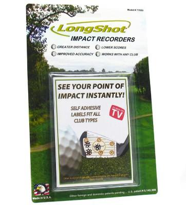 Long Shot Impact Recorder