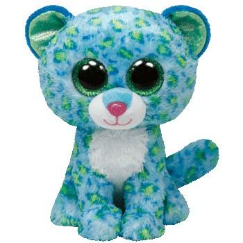 Ty Beanie Boos Buddies Leona Leopard' data-lgimg='{