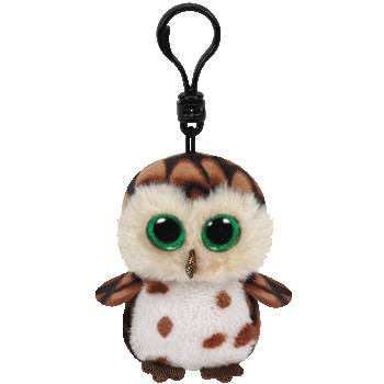 Ty Beanie Boos Buddies Sammy the Owl Clip