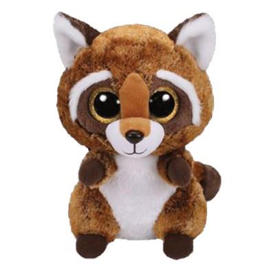 Ty Beanie Medium Rusty Raccoon
