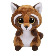 Ty Beanie Medium Rusty Raccoon