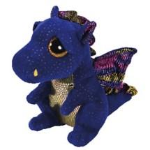 TY Beanie Boo Saffire Dragon Regular Size