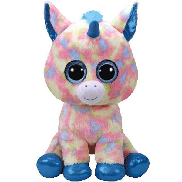 bf9eab13730 TY Beanie Boo Blitz Unicorn Large Size