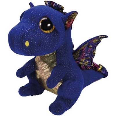 TY Beanie Boo Saffire Dragon Medium Size