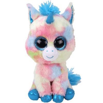 TY Beanie Boo  Blitz Unicorn Medium Size