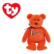 Ty Beanie Babies San Francisco Giants