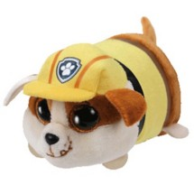 TY Beanie Teeny Paw Patrol Rubble Bulldog