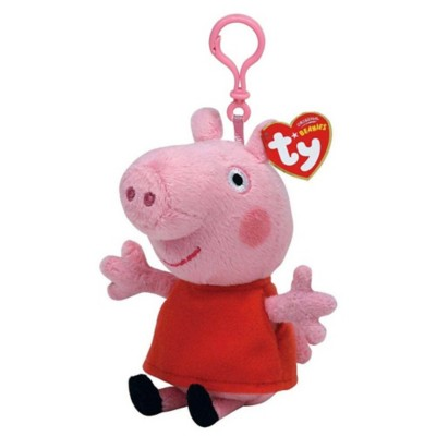 Ty Beanies Peppa Pig Clip