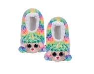 TY Plush Poodle Slippers