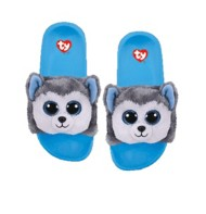 TY Plush Husky Slides