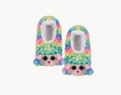 TY Plush Poodle Slides