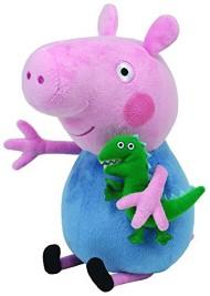 Ty Beanies Peppa Pig George - Medium