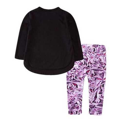 Infant Girls' Nike Mylar Swirl Tunic Set