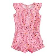 Toddler Girls' Levi's Knit Ruffle Sleeveless Romper