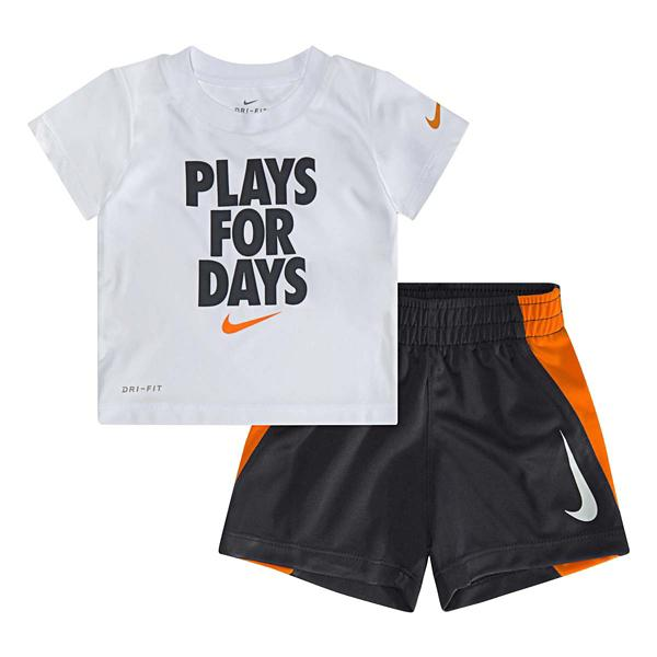 28f18a00d8 Infant Boys' Nike Dri-Fit Plays for Days Graphic T-Shirt Set ...