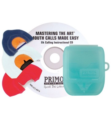 Primos Mastering The Art Elk Call 3-Pack And DVD