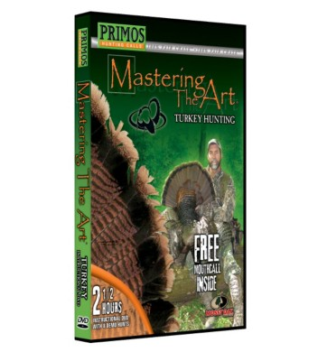 Primos Mastering The Art Turkey Hunting DVD with Call