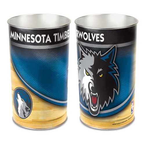 Wincraft Minnesota Timberwolves Trash Can
