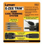 Lyman E-ZEE Trim Hand Case Trimmer Rifle Set