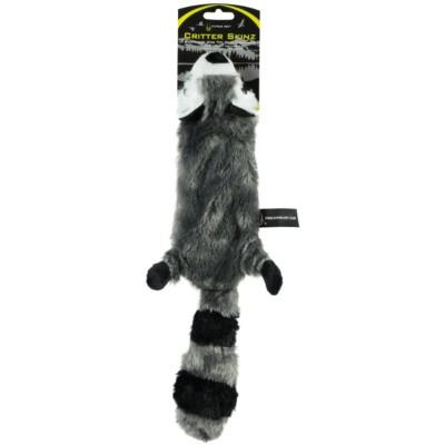 Hyper Pet Skinz Super Squeaker Raccoon Dog Toy