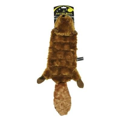 Hyper Pet Skinz Super Squeaker Beaver Dog Toy