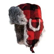 Eskimo Plaid Fur Hat