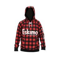 Men's Eskimo Buffalo Plaid Hoodie
