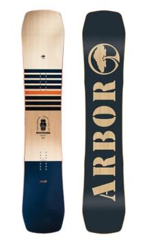 Men's Arbor Westmark Rocker 155MW Snowboard