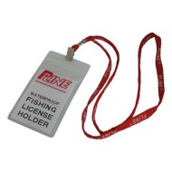 P-Line Waterproof Fishing License Holder