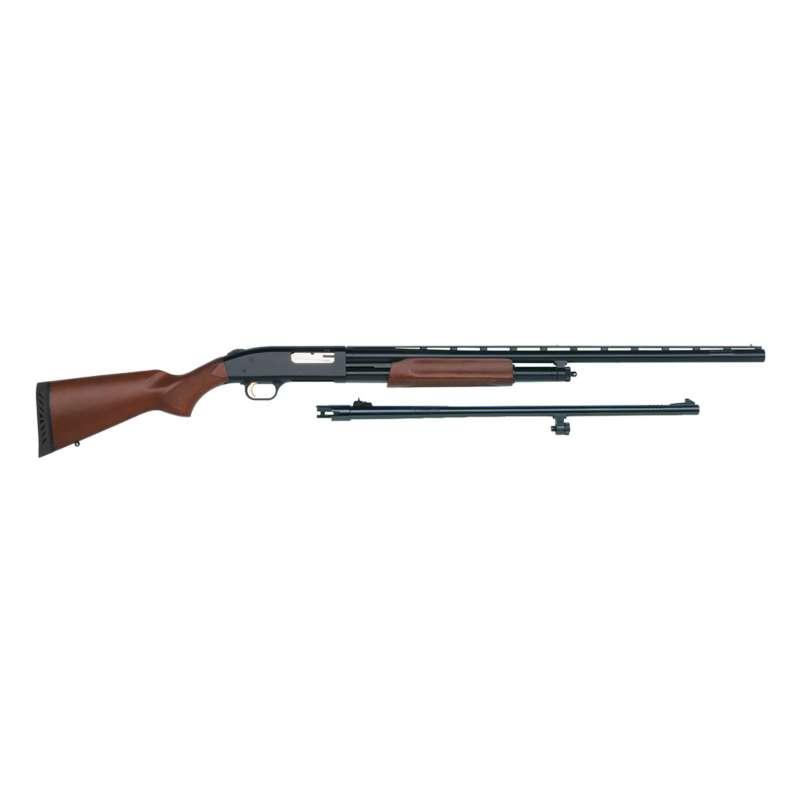 Mossberg Wood 500 Combo 12 Gauge Pump Shotgun