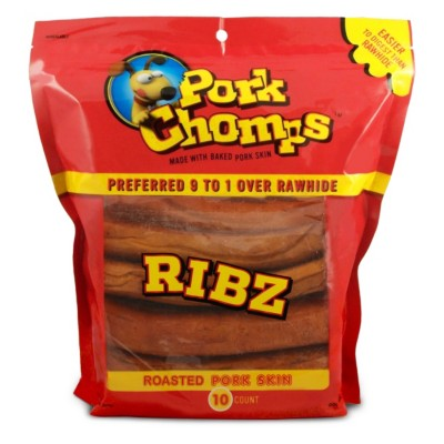 Pork Chomps Pork Ribz Dog Treat