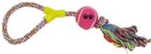 Scott Pet Rope Tug with Tennis Ball