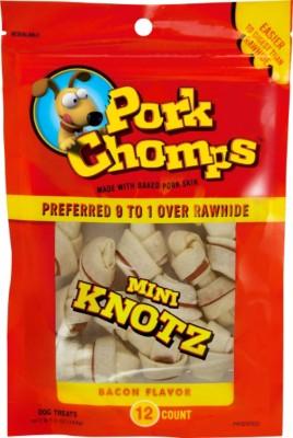 Pork Chomps Bacon Mini Knotz Bones