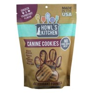 Howl's Kitchen Chicken and Cranberry Flavored Cookie Dog Treats