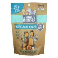 Howl's Kitchen Beef and Cheese Flavored Wraps Dog Treats