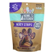 Howl's Kitchen Bacon and Cheese Flavored Meaty Strips Dog Treats